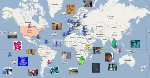 Die Weltkarte der Reiseziel-Experten