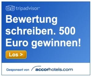 Bewertung schreiben - 500 € gewinnen!