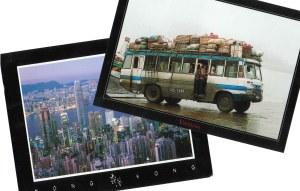 Postkarten aus Hong Kong und Vietnam von unserer französischen Kollegin - ja wir sind neidisch