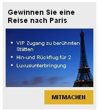 Mitmachen und VIP-Reise nach Paris gewinnen!