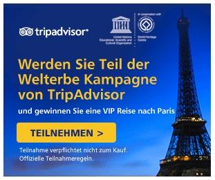 Hier geht's zur UNESCO Welterbe-Kamapgne von TripAdvisor