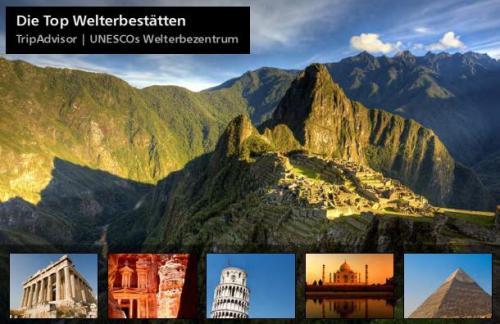 Reiseführer Top Welterbestätten