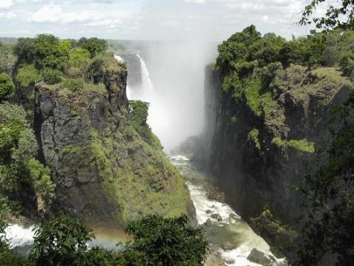 Die Viktoriafälle - beeindruckend aber auch die höchsten Wasserfälle?