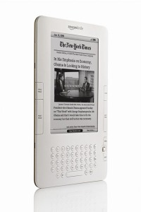 Buchersatz E-Reader (hier Amazon Kindle)