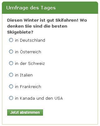 Wo gibt es die besten Skigebiete?